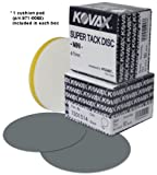 Eagle 730-1514 - 3 inch Buflex Dry Mini SUPER-TACK Discs - Black - 50 discs/box