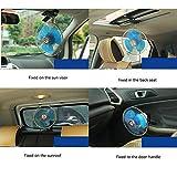 Portable Clip-On Car Fan, 12V/24V Summer