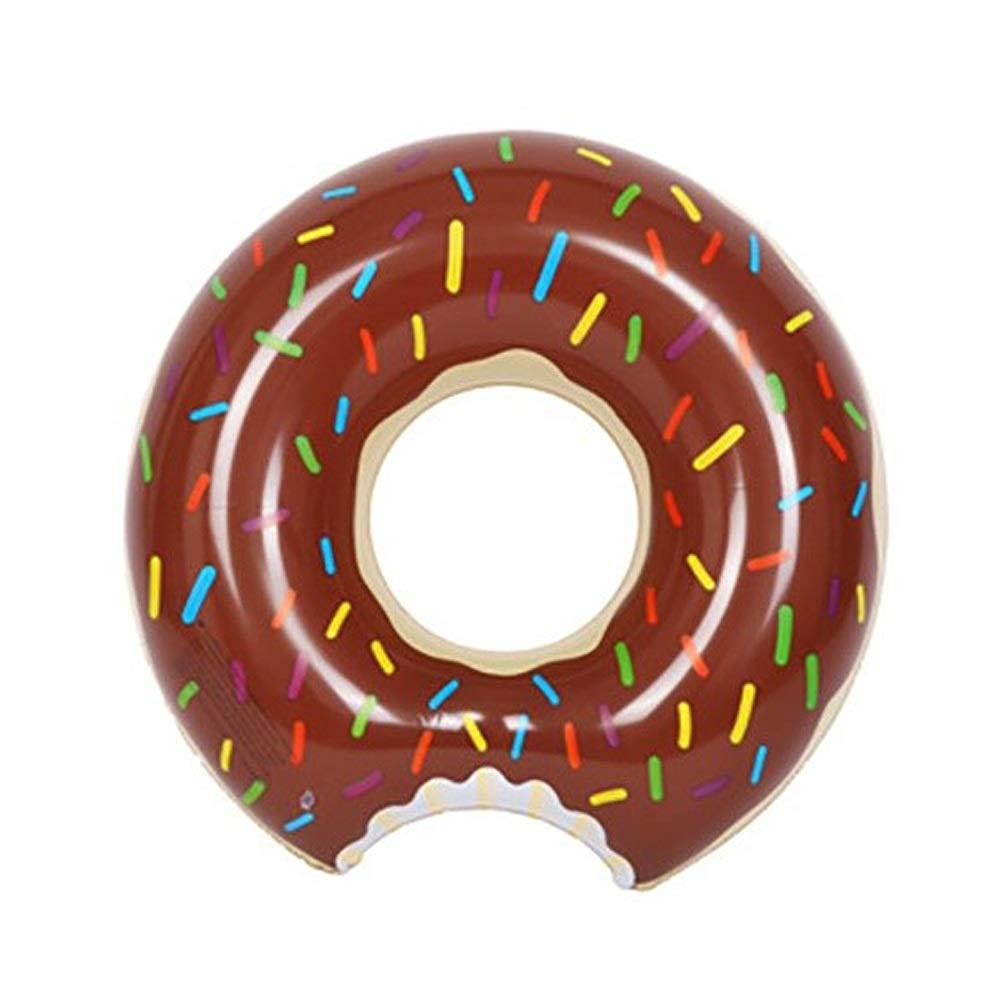 Yangyme Donut Anillo de Natación Inflable, Flotador Gigante ...