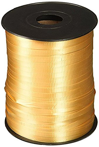 - Gold, Berwick Splendorette Crimped Curling Ribbon, 3/16-Inch Wide by 500-Yard Spool