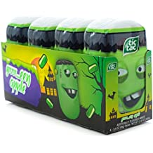 Tic Tac Bottle Pack Halloween 2015 Green Apple (Pack of 4)