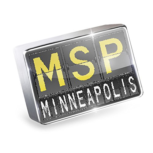 Floating Charm MSP Airport Code for Minneapolis Fits Glass Lockets, - Airport Minneapolis Shops