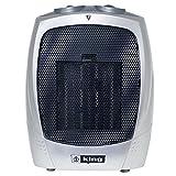 King Electric PH-2 1500-watt Portable Ceramic Heater, Silver