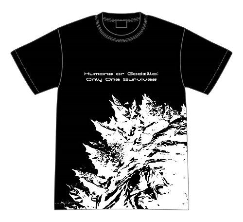 GODZILLA Humans or Godzilla : Only One Survives Tシャツ Mサイズの商品画像