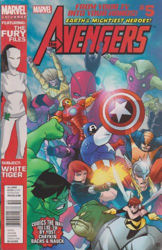 The Avengers Earth's Mightiest Heroes (Comic #5)