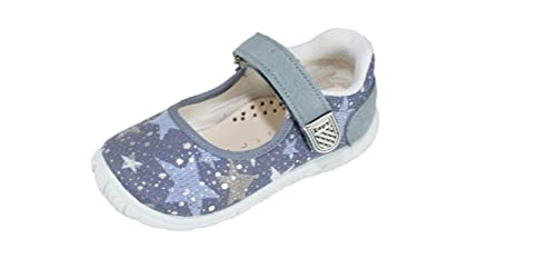 Zapatillas Lona Niña Jeans Estrellas Velcro ZAPY (21)