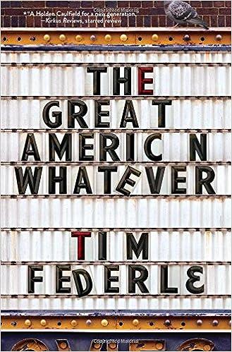 Tim Federle - The Great American Whatever Audiobook Free Online