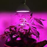 Eachbid 72LED E27 Led Grow light Bulb ,Grow Plant Light Bulbs for Office, Home,Indoor Garden...