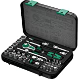 Wera 8100 SA 2 Zyklop 1/4'' Metric Ratchet Set, 41-Pieces