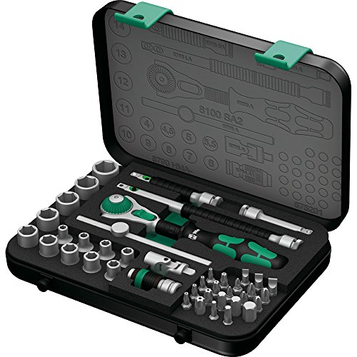 Wera-8100-SA-2-Zyklop-14-Metric-Ratchet-Set-41-Pieces