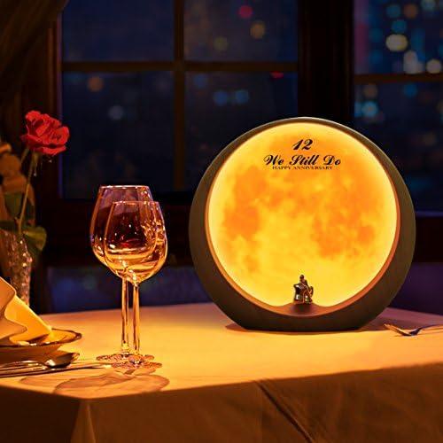 mamre Moon Ambient Light DIY Anniversary Wedding Valentines Day Gift Ideas Art Décor, Love Beneath The Red Moon 51skM96BirL