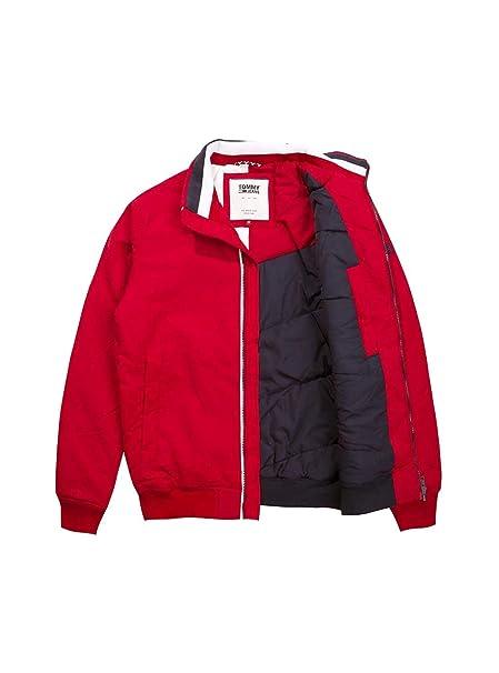 Tommy Jeans Chaqueta Essential Padded Rojo Hombre S Rojo: Amazon.es: Ropa y accesorios