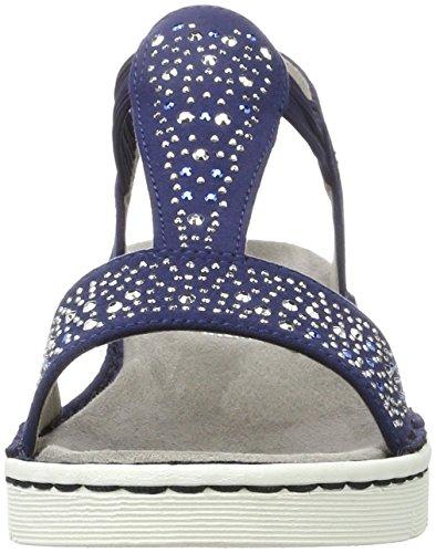 Jenny 22-57203, Sandalias Mujer Azul (Blau)