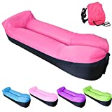 ● Material: 210T Waterproof Nylon fabric,import PVC ● Color: Blue,Pink,Purple,Rose Red,Green ● Inflated Size: 200 x 70 x 55cm (78.7 x 27.6 x 21.7 inches) ● Package Size: 40 x 7 x 22cm (15.7 x 2.7 x 8.8 inches) ● Weight: 2.2lbs ● Support up: 440 lbs ●...