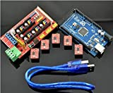 Cloud Sensor 3D Printer Control Board Kit 2560R3 Master and Ramps 1.4 and 4988 Driver