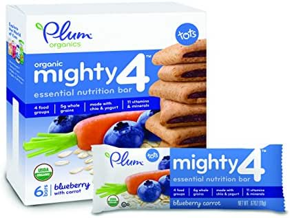 Baby & Toddler Snacks: Plum Organics Mighty 4 Essential Nutrition Bar