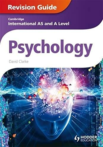 amazon com cambridge international as and a level psychology rh amazon com Revision Icon Revision Timetable