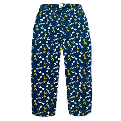 fan products of Tottenham Hotspur FC Official Soccer Gift Mens Lounge Pants Pajama Bottoms L