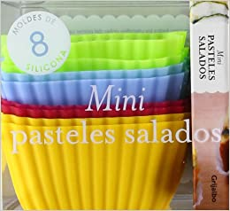 Mini pasteles salados (Spanish) Hardcover – June 23, 2012