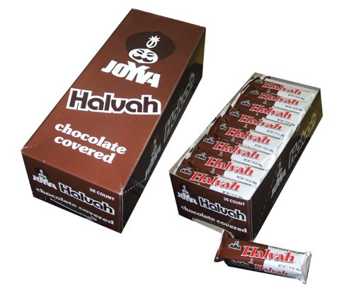 Joyva Chocolate Covered Halvah Bars, 1.75 Ounce,(36 count)