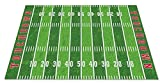Kid Carpet FE796-44A Football Field Nylon Area Rug, 7'6' x 12', Multicolored