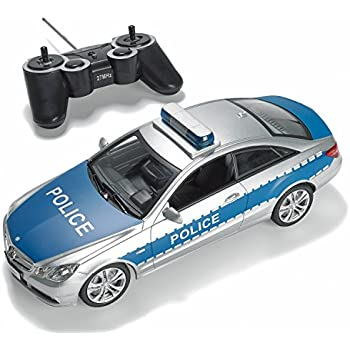 Amazon Com Prextex Rc Police Car With Lights And