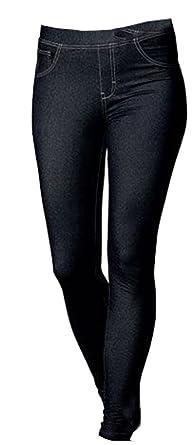 64cd6be40f50ed Esmara Damen Jeggings Leggings in moderner Jeans Optik (S 36/38 ...