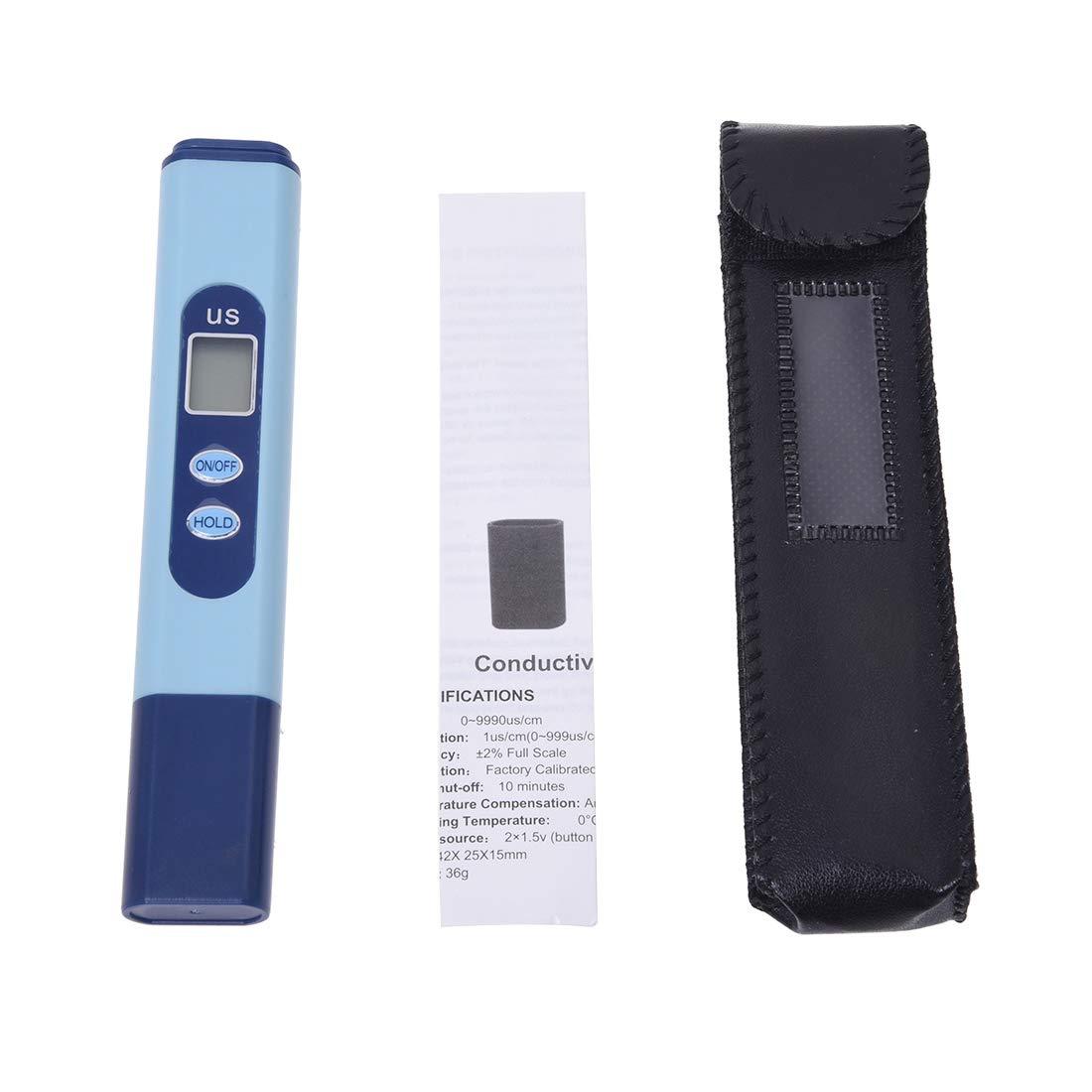 SODIAL (R) Digital LCD EC leitw ertmess Tensiómetro para ueberpruefung la Agua de Gran Calidad AP-2 Tester Pen 0 - 9999?S/cm: Amazon.es: Bricolaje y ...