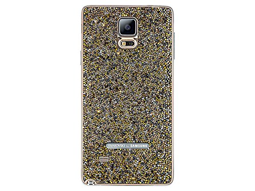 (Swarovski Crystal Battery Cover for Samsung Galaxy Note 4 --- Sunset Gold)
