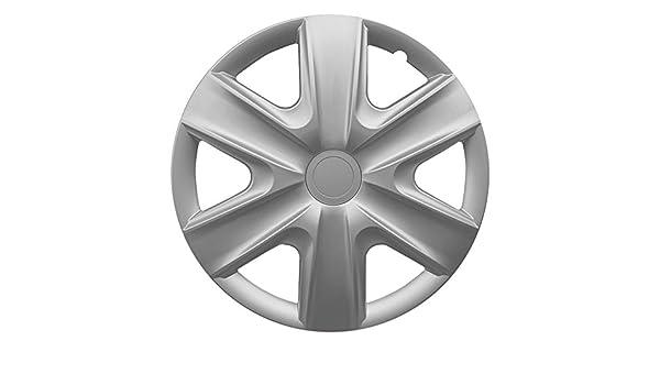 16 Pulgadas Tapacubos hexan Silver (Plata). Tapacubos apto para casi todos los Seat Vehículos: Amazon.es: Coche y moto