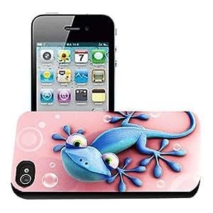 QJM Gecko Pattern 3D Effect Case for iPhone5