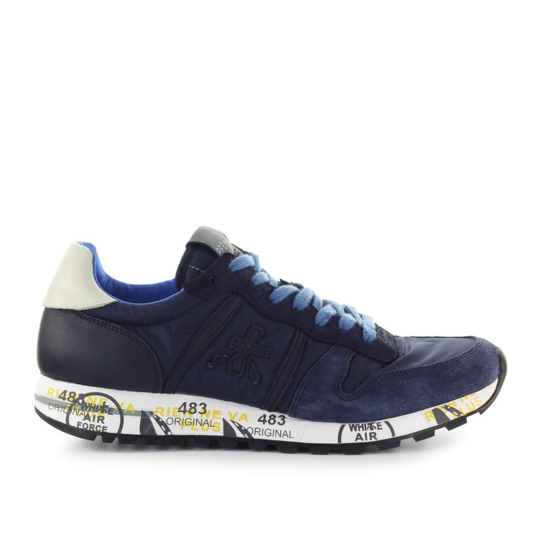PREMIATA Herren Schuhe Turnschuhe Eric 3921 Blau SS 2019