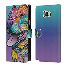 Official Dean Russo Riliad Dogs 4 Leather Book Wallet Case Cover For Samsung Galaxy S4 mini I9190