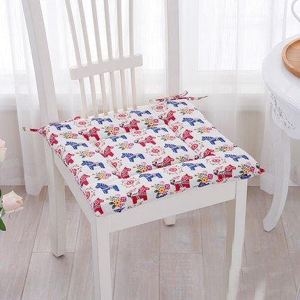 Japanese-style Fluid Systems chair Seat cushion stool Upholstery winter Thicken Chair pad Seat cushion Students mat pony