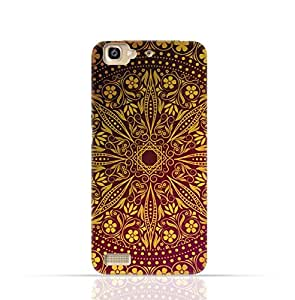 Huawei GR3 TPU Silicone Case with Floral Pattern 1201