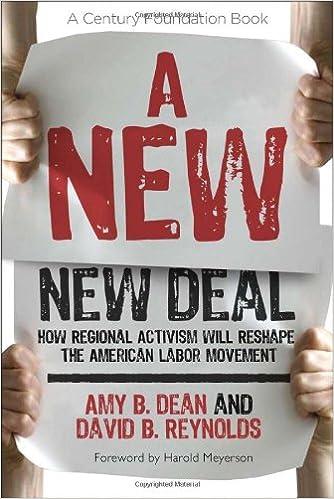 Los 20 mejores ebooks gratuitos descargadosA New New Deal: How Regional Activism Will Reshape the American Labor Movement (A Century Foundation Book) by Amy B. Dean en español CHM