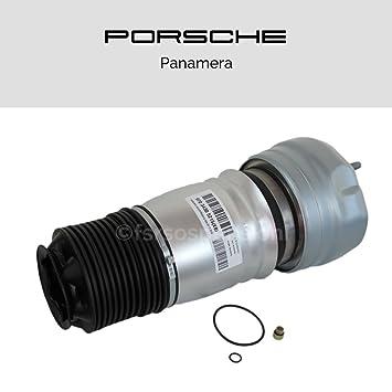 Porsche Panamera Muelle de aire Fuelle Suspensión Amortiguador Delantero DX: Amazon.es: Coche y moto