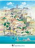 500ピース ジグソーパズル 魔女の宅急便 海に浮かぶ町 (38x53cm)
