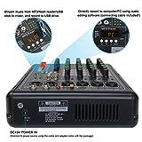 Phenyx Pro PRX-100 Audio Mixer, Compact 4-Channel