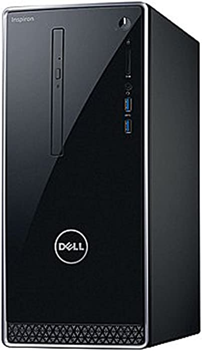 2018 Newest Dell Premium Business Flagship Desktop PC with Keyboard&Mouse Intel Core i5-7400 Processor 12GB DDR4 RAM 1TB 7200RPM HDD Intel 630 Graphics DVD-RW HDMI VGA Bluetooth Windows 10 Pro-Black