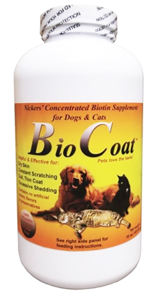 Bio Coat Concentrated Biotin Supplement - 16 oz