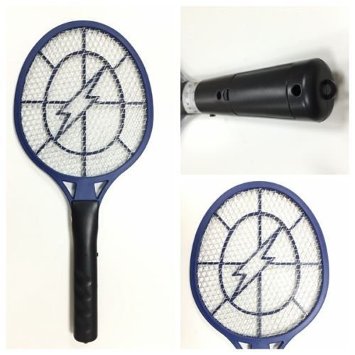 Electric Fly Mosquito Swatter Bug Wasp Zapper Racket Insect killer control, Simply Wave OFF this Tennis Racket And Zap Away ALL the bugs Around you.