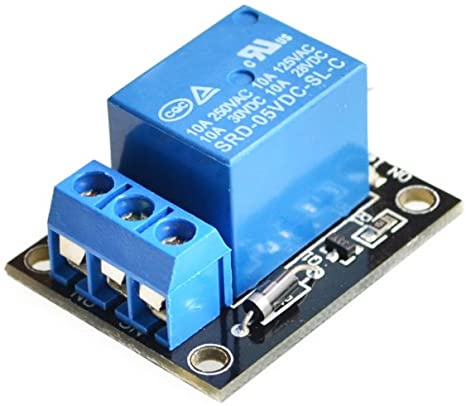 Amazon.com: Tolako 5v Relay Module for Arduino ARM PIC AVR MCU 5V Indicator  Light LED 1 Channel Relay Module Works with Official Arduino Boards:  Computers & Accessories