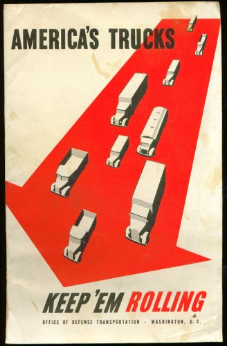 Defense Transportation Keep Trucks Rolling booklet 1942 from The Jumping Frog