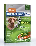 Hartz UltraGuard Plus 7 Month Protection Reflective Flea & Tick Collar for Dogs and Puppies - 22in
