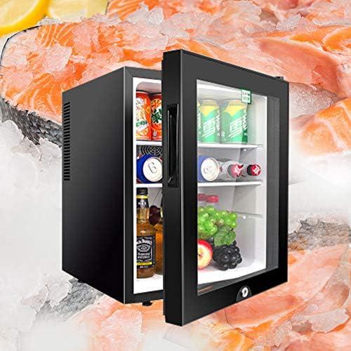 40Lシングルドア小型冷蔵庫小型家電冷凍庫商業フルーツ飲料新鮮なキャビネットをマスク