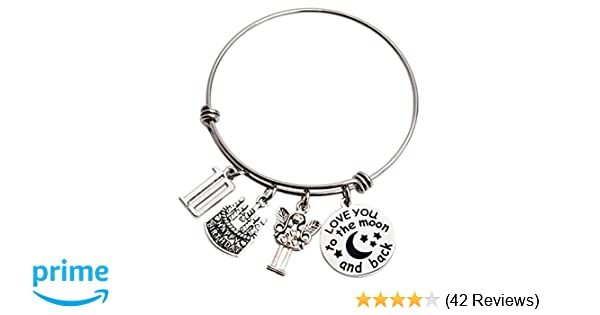 Amazon LParkin 10th Birthday Gifts For Girls Her Stainless Steel Expandable Bangle Jewelry