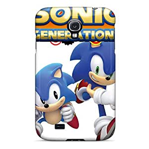 New Design Shatterproof GrRvOeu6142WbJUt Case For Galaxy S4 (sonic Generations)