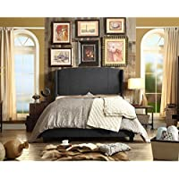 Millbury Home Chavelle Charcoal Upholstery Platform Bed