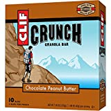 CLIF CRUNCH – Granola Bar – Chocolate Peanut Butter – 1.48 Ounce, 5 Two-Bar Pouches For Sale